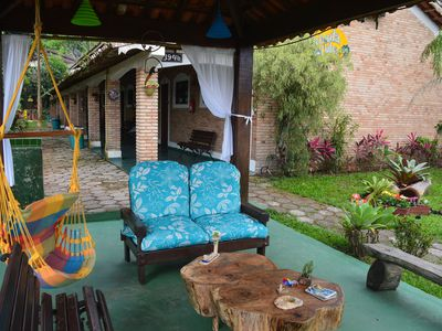 Photo for Chalet Yabadabatuba 02 - 70m from Lagoinha Beach with pool and barbecue