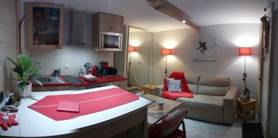 Photo for The alpin-Savoie: nice studio 2pers in Rez of garden of a chalet
