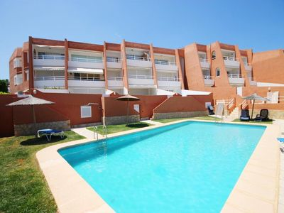 Photo for Beautiful apartment, with pool, 1st line, first Montañar, Jávea bay.