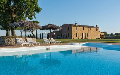 Photo for Villa al Tramonto - Buonconvento (Val d'Arbia area)