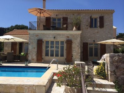 Photo for Fantastic villa with private pool and amazing sea views