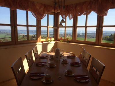 Photo for Exclusive large holiday home overlooking the Chiemsee
