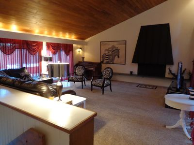 Photo for Charming and quiet rental 3 miles from the Mt. Mansfield skiing area