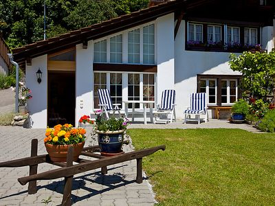 Photo for Apartment Am Brienzersee in Brienz - 2 persons, 1 bedrooms