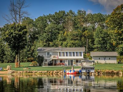 Great Lakefront Living for the entire family, Swim, Play, Relax, it's all here!