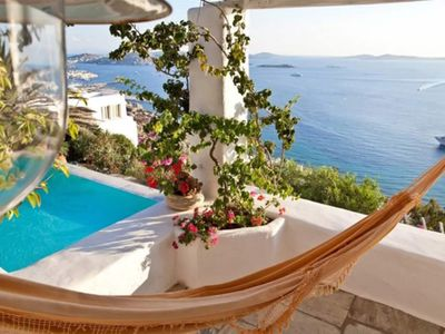 Photo for Fine and luxurious Mykonos Secret Villa in Mykonos, private pool, 5 bedrooms, 12 sleeps
