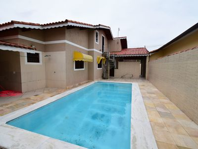 Photo for House with swimming pool 500 meters from the beach in Peruíbe