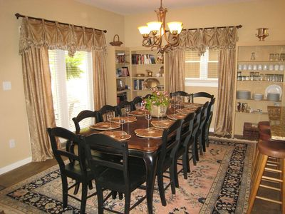 Mountain Lodge Realty Beech Mountain Lodge Dining Room with Seats for 14