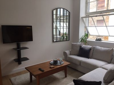 Photo for Refurbished apartment in the heart of Glasgow