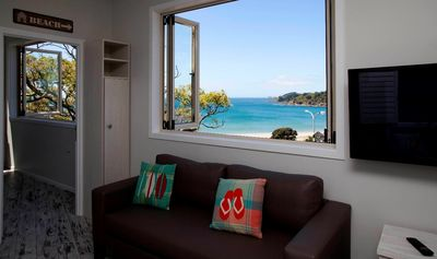 Photo for Modern Stylish Oneroa Apartment with Sea Views. Sleeps two