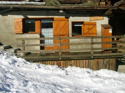 Photo for Traditional chalet Arêches independent tastefully renovated, comfortable, quiet 3 *