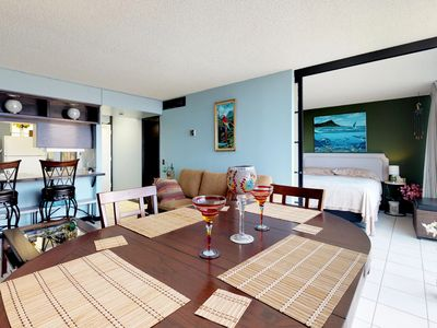 Photo for Oceanview condo with shared pool & hot tub, golf & beach nearby