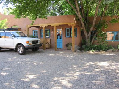 Photo for Historic Antique Adobe walking distance to the Taos Plaza! New Hot tub!