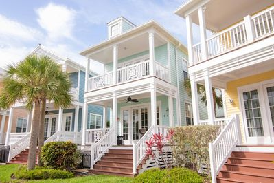 Great Porches with Ocean Views