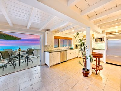 Photo for 35% OFF JUN - Oceanfront Island Style Beach Home on the Sand w/ Amazing Views