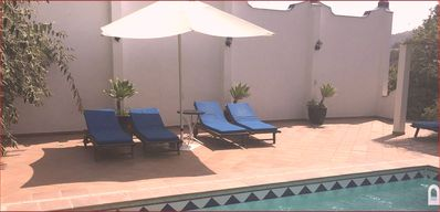 Photo for Cosy Finca-Apartment with Pool,Garden,Terrace, Heating,WiFi,10 min to  the beach
