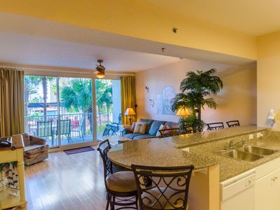 Photo for Next Avail 9/22-9/28 & other Fall dates at Great Rates! Ocean & Pool Front 2BD + Bunks/2.5 BA    Book NOW this condo fills up fast!