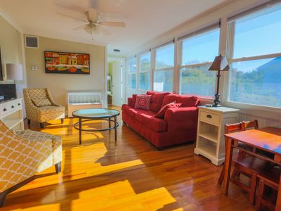 Photo for 2 Min Walk to Beach from this Family Friendly, 2nd Story Duplex with Sunroom & Covered Balcony