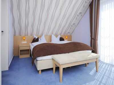 Photo for Double room with balcony - Hotel-Pension Schiffer