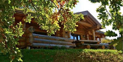 Photo for Log cabin exceptional located at the gates of Geneva
