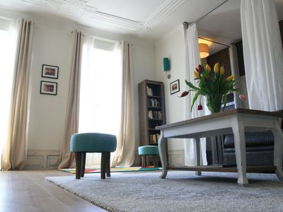 Photo for Centralized, large-scale design old apartment in Gernsbach in Baden-Baden