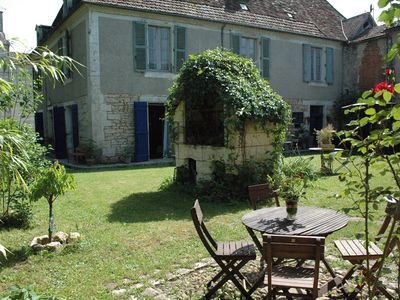 Photo for Beautiful holiday home for 4 to 5 people in a small village on the river.