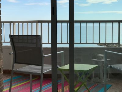 Photo for APARTMENT on the PLAYA CAMPELLO LINE WITH SPECTACULAR VIEWS