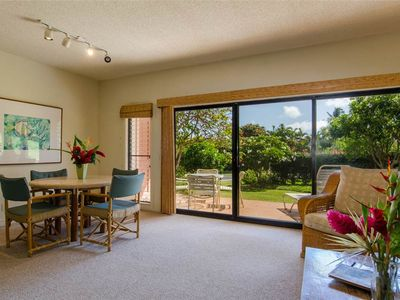 Photo for Spacious (1090 Sq.Ft.) 1BR-1.5BA Condo in Poipu Kai