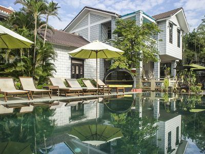 Photo for With 2000 sqm tranquility villas and located between the center & Cửa Đại beach