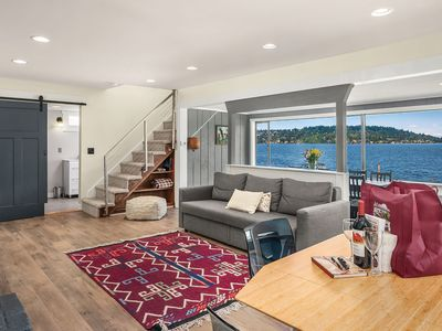 Photo for Seattle Vacation Home: Rainier waterfront home - Great Location | Amazing Views! | 5* Hospitality
