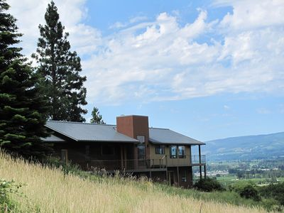Photo for Stunning Double Mountain & Hood River Valley Views - East Side