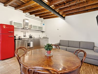 Photo for Restyled apartment in Ticinese, traditional Milanese apartment