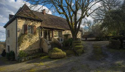 Photo for Perigordian house in the heart of black Périgord, in a green setting