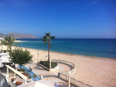 Photo for First line in Altea for 4 people close to everything with nice sea views.