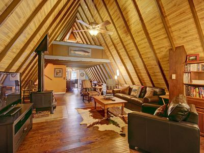 Photo for Secluded Cabin, Hiking, XCountry Skiing, Close to Town - Spruce Creek Lodge by SkyRun