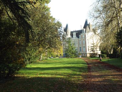 Photo for Delightful Studio apartment in beautiful authentic Chateau