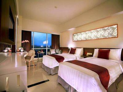 Photo for Deluxe twin Adjacent to Mal Olympic Garden Malang