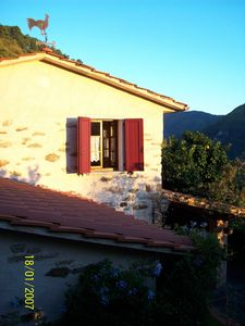 Photo for DELICIOUS RUSTIC WITH PRIVATE GARDEN AND TERRACE A FEW KM. FROM THE SEA.