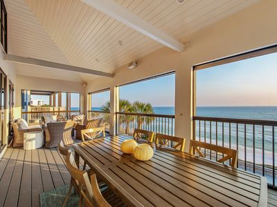 """Photo for """"Absolutely"""" ~ Gulf Front! Private Pool! Two Master Suites with Gulf Views!"""