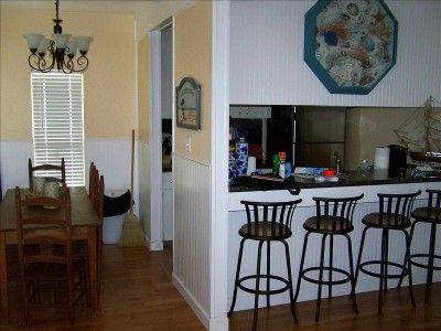 Updated Dining Area fits up to 10 guests
