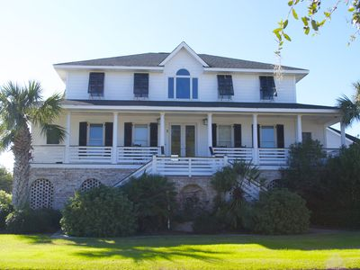 Photo for CASA INTRACOASTAL - Isle of Palms Beach House with Pool and Golf Course Views
