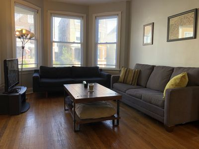 Photo for Spacious 2 Bed Unit in Logan Square. Free Garage Parking Spot!