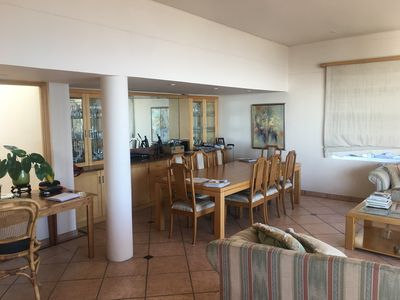Photo for Great location on top road Fresnaye endless views last house on the road