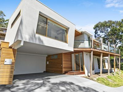 Photo for MOONRAKER - Stunning views, brand new contemporary beach home