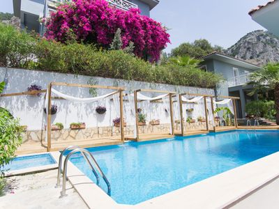 Photo for Gocek Garden | Villa Sage, 2 Bedrooms Private Villa with Shared Swimming pool