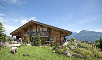 Photo for Holiday apartment Aeschi b. Spiez for 2 - 5 persons with 2 bedrooms - Holiday apartment