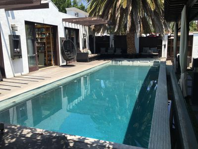 Photo for Modern Moroccan Pool Paradise in Heart of Beverly Center / West Hollywood
