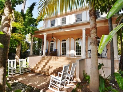 Welcome to the Little Hemingway House- Please NOTE:  the house now has railings