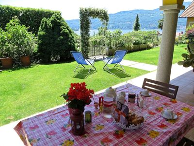 Photo for Margo 1 apartment in Verbania Suna in a panoramic position