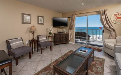 Photo for BEACH FRONT ~ 1 BR Condo at Four Winds in Orange Beach! *FREE Nights!